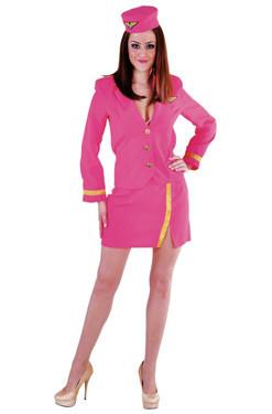 Stewardess Pink