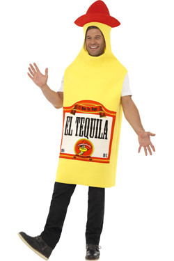 Tequila Bottle Yellow
