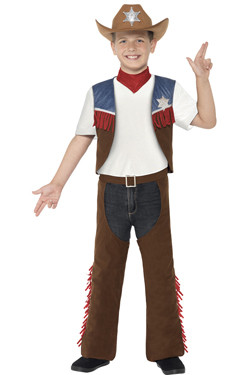 Texan Cowboy Kostuum Kids