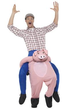 Varken Piggyback Kostuum
