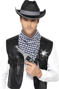 Western Kit Black Cowboy