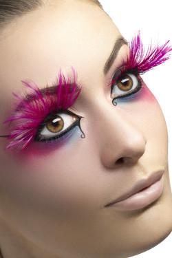 Wimpers Veren Pink