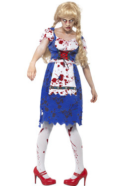 Zombie Bavarian Woman