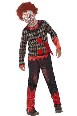 Zombie Clown Kids Deluxe