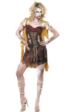 Zombie Gladiator Lady