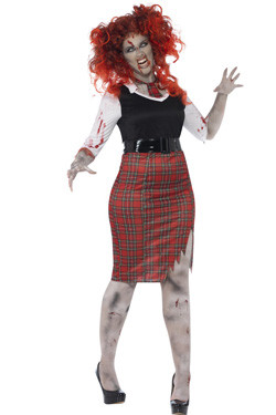 Zombie Schoolgirl Curves