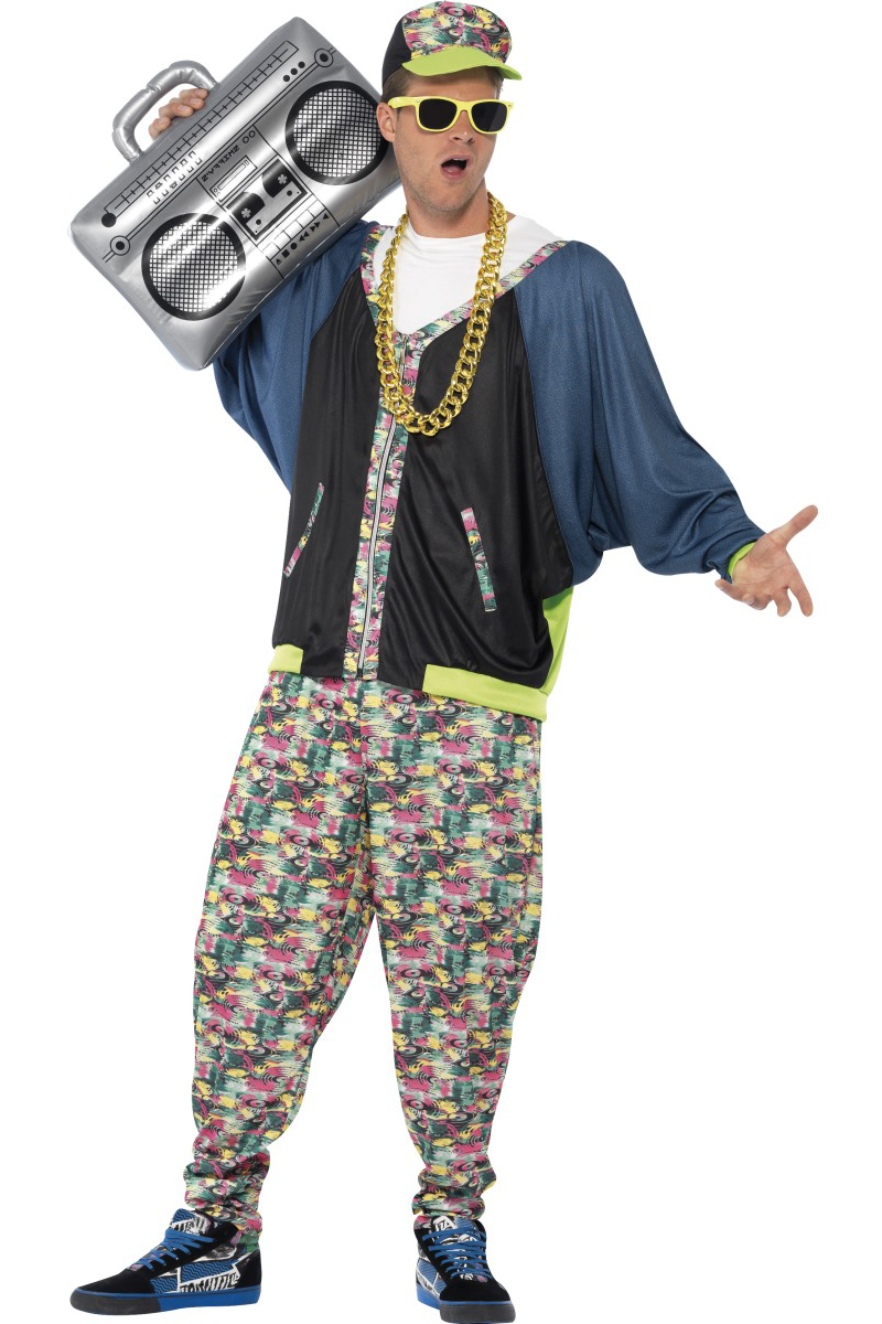 Top Hip Hop jaren 80 kostuum JY29