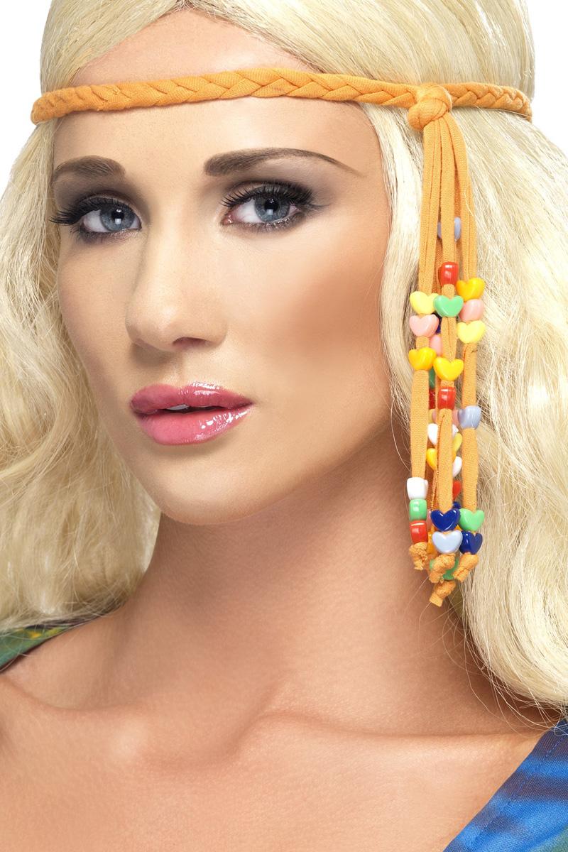 792afc47f8b251 Hippie haarband met kraaltjes!