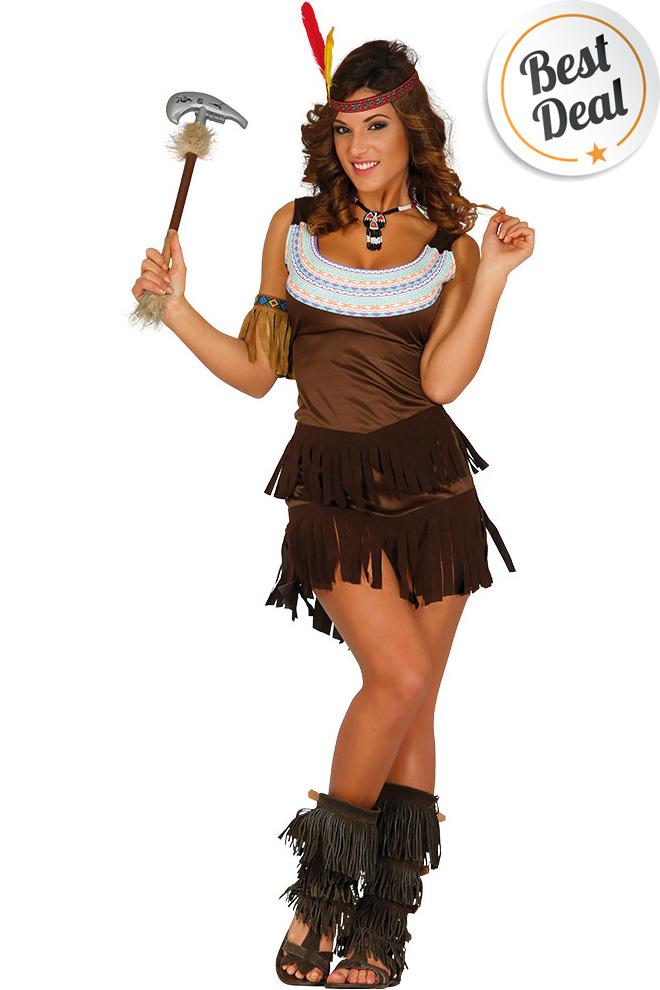 Carnavalskleding Dames Indiaan.Indiaan Jurk Dames Het Leukste Carnavalskostuum