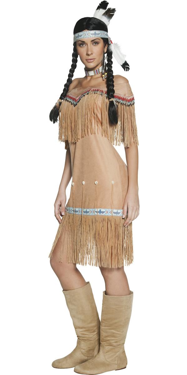 Carnavalskleding Dames Indiaan.Indianen Dames Carnavalskostuum