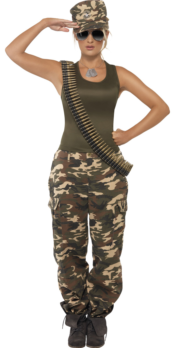 da7f66dbb60abf Khaki camo soldaten kostuum!