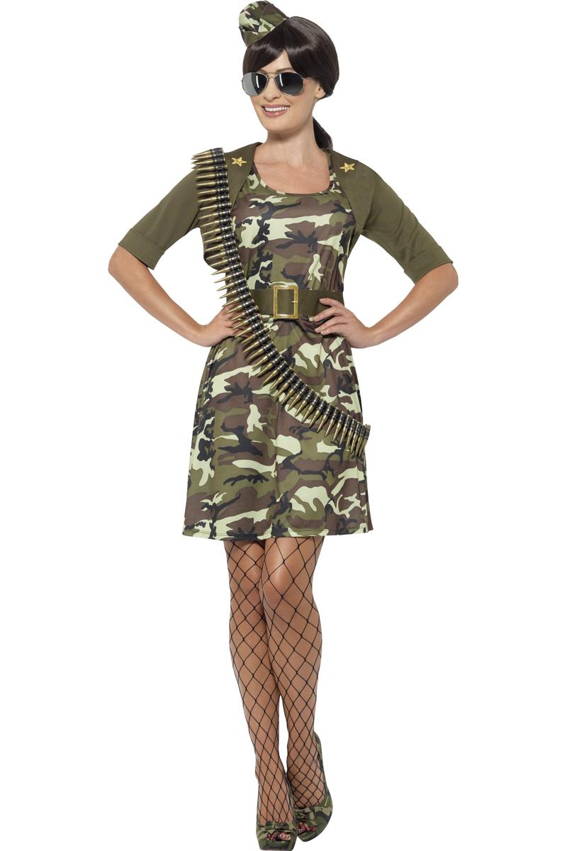 Leuk leger combat cadet kostuum voor dames for Telephone leger