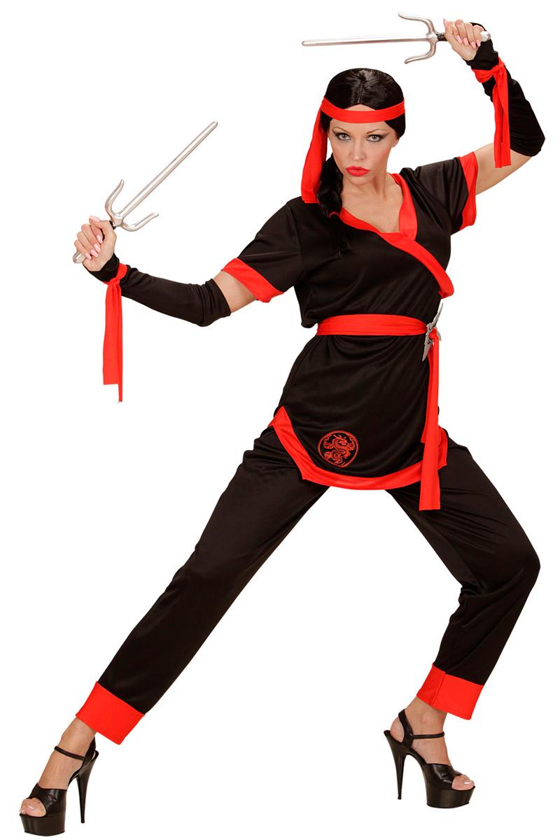 Carnavalskleding Dames Ninja.In Dit Ninja Vrouw Kostuum Zie Jij Er Geweldig Uit
