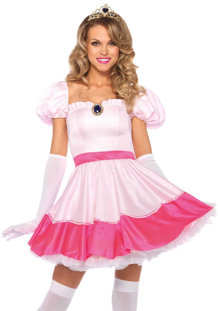 95c534641d2a42 Pink Princess Peach jurkje!