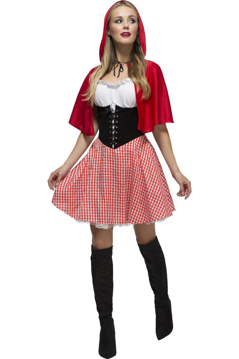 roodkapje kostuum vrouw
