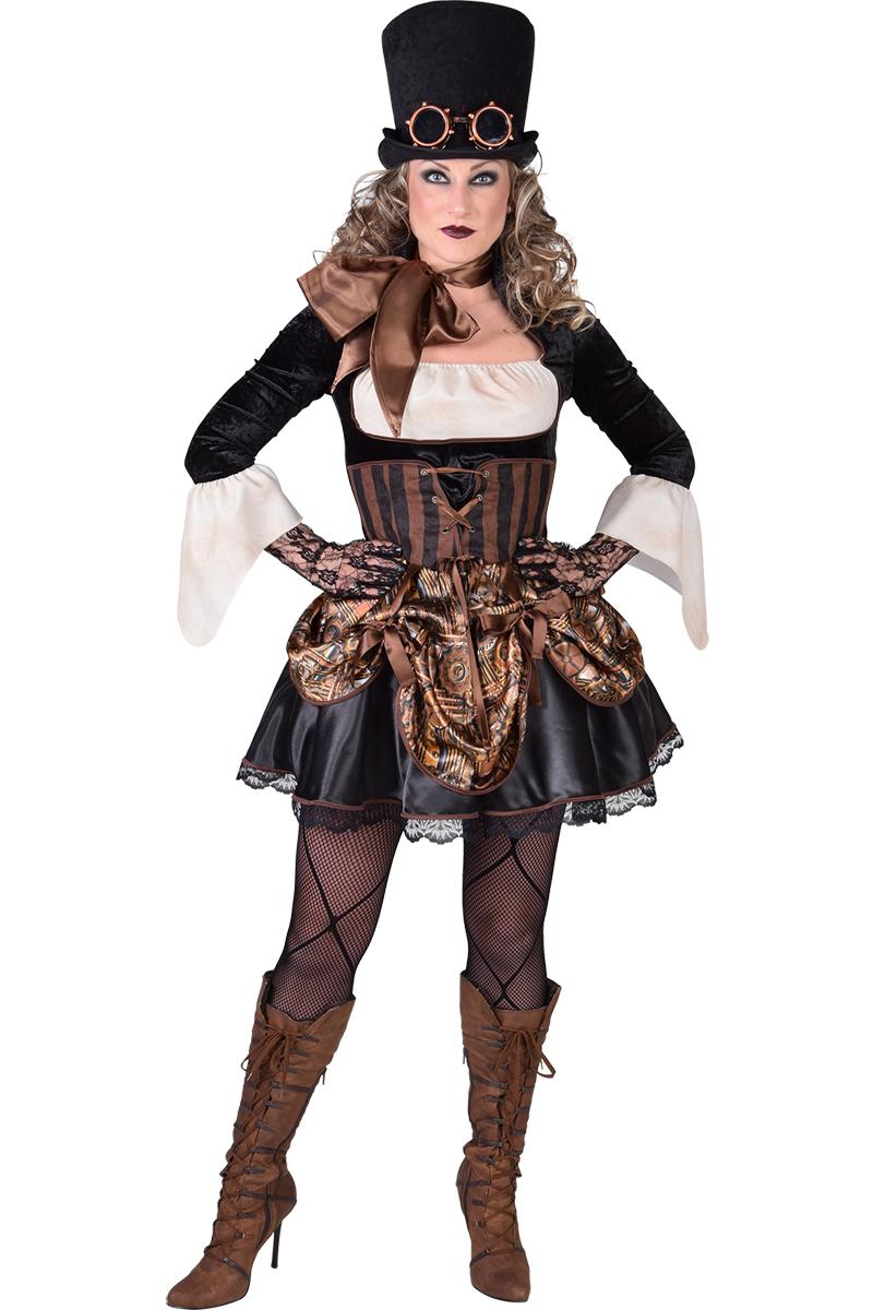 Halloween Kleding Dames.Steampunk Kostuum Dames Dames Halloween Kleding