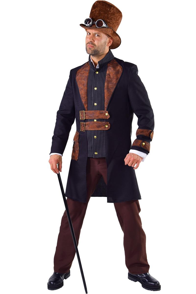 In het Steampunk Kostuum Heren Charly zie je er top uit!