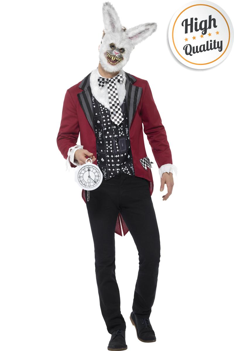 Halloween Kostuum Nl.White Rabbit Halloween Kostuum Voor Een Griezelige Look